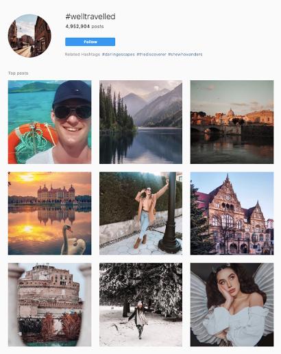 hashtag Instagram référencement
