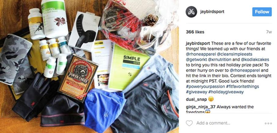faire un partenariat sur Instagram