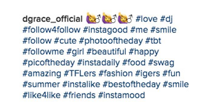 utiliser des hashtags populaires